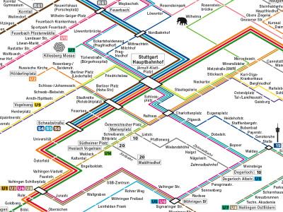 Visualcomplexitycom Stuttgart Rail Network Germany - Germany map stuttgart
