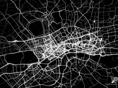 London GPS tracking map