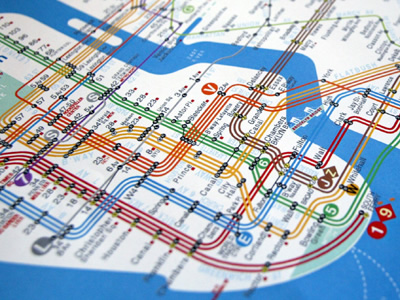 Visualcomplexity Com Nyc Subway Map Redesign