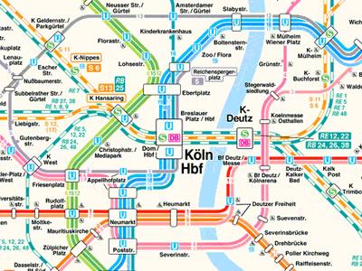 visualcomplexitycom Cologne Koln Transportation System