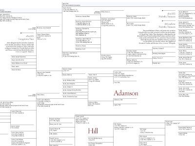 Visualcomplexity 20 Generations Family Tree