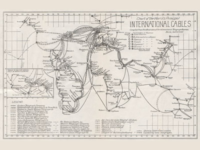 Schreiner International Cables Map