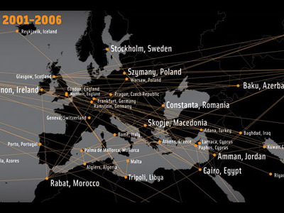 CIA Rendition Flights 2001-2006