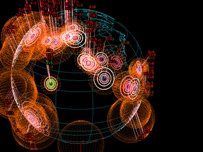 visualcomplexity.| EarthQuake 3D