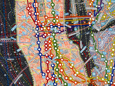 Paula Scher: Maps series
