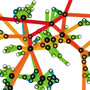 Structure and tie strengths in Mobile Communication Networks