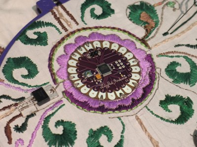 LilyPad Embroidery