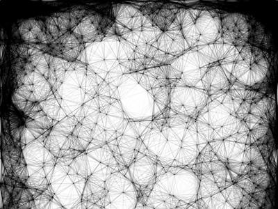 Random Lissajous Webs