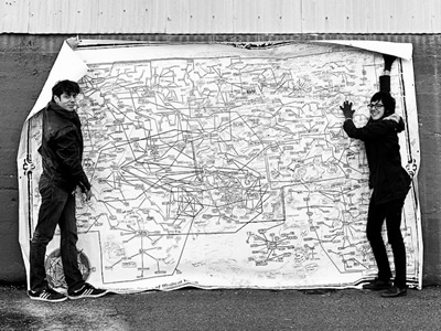Seattle Band Map
