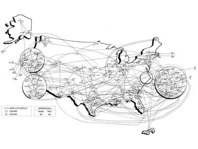 MILNET Map (1989)
