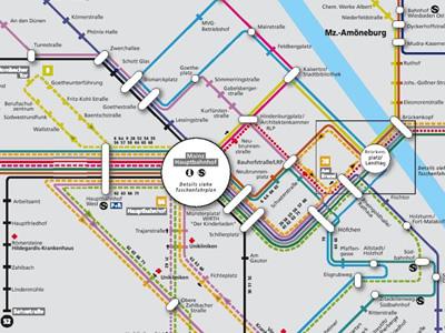 visualcomplexitycom Mainz Bus Map Germany