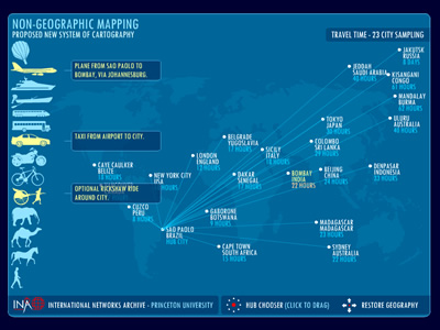 visualcomplexity com | Non-geographic mapping