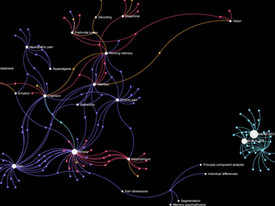 Visualizing Neuroscience Publications Keyword Network